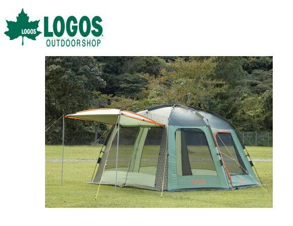 【露營趣 】中和 附露營燈 LOGOS LG71459012 夢幻3538速立加賀屋帳 炊事帳 客廳帳 網屋 露營帳篷