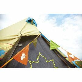 【露營趣】中和 日本 LOGOS 印地安三色旗幟-2pcs 三角旗 LG71809509