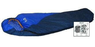 【露營趣】中和 Lirosa AS079 Quallolite 杜邦七孔 纖維睡袋 背包客 遊學 登山 保暖睡袋 -2℃