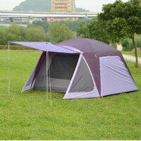 新手露營用品推薦到【露營趣】中和 好野 Outthere 馬卡龍 6人帳篷 Macaron6 鋁合金營柱 時尚輕量 AD00309B