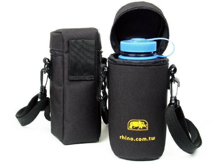 【露營趣】中和 犀牛 RHINO 316L 可揹式全罩型水壼套 保溫 保冰 保冷 水壺套 休閒水壺套 來勁 Nalgene