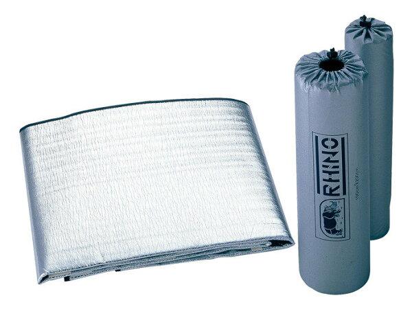 【露營趣】RHINO犀牛910二人鋁箔睡墊錫箔睡墊保暖睡墊登山露營帳篷用睡墊地墊