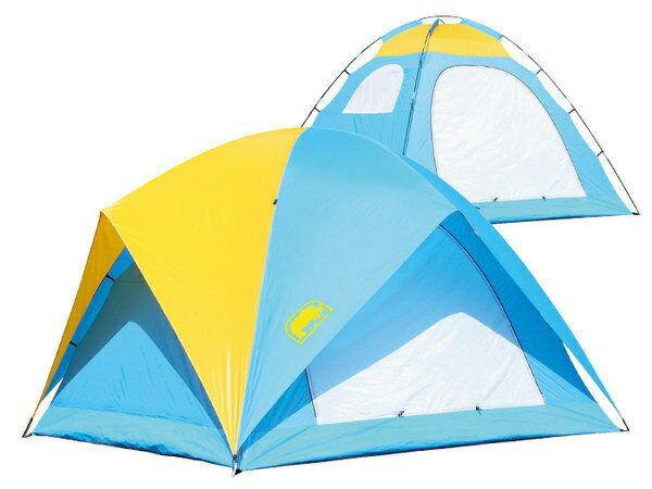 【露營趣】中和送鋁箔墊手電筒台製犀牛RHINOA-065六人高頂蝶式帳篷6人帳六人帳篷登山露營帳篷