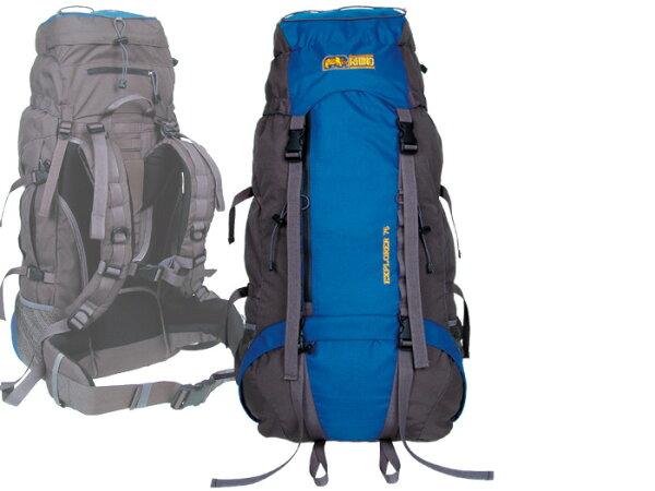 【露營趣】RHINO犀牛G17575公升易調式背負系統背包登山背包遠程背包重裝背包大背包背包客澳洲歐洲遊學自助旅行背包
