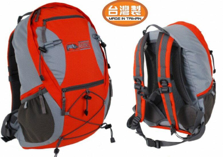 【露營趣】中和 RHINO 犀牛 台灣製造 G520 20公升透氣網架背包 登山背包 休閒背包 自行車背包