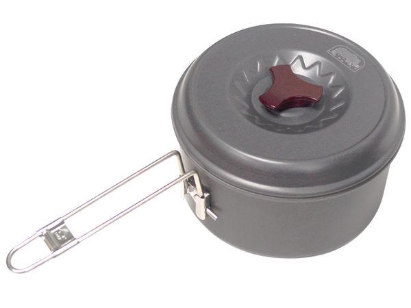 【露營趣】中和 犀牛 RHINO K-32 1.7公升超輕鋁合金單鍋 1~2人鍋 一人鍋 二人鍋