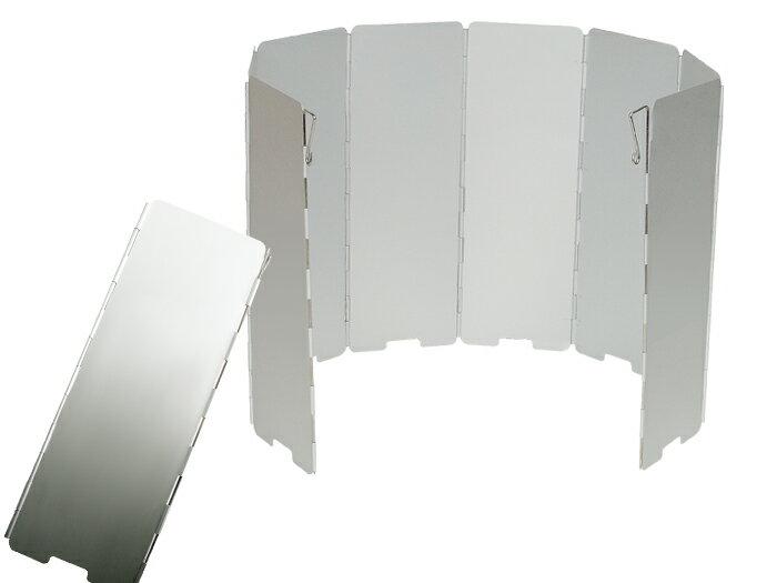 【露營趣】中和 犀牛 RHINO K-9 鋁合金擋風板 擋風片 阻風片 附收納袋 攻頂爐 飛碟爐 省燃料