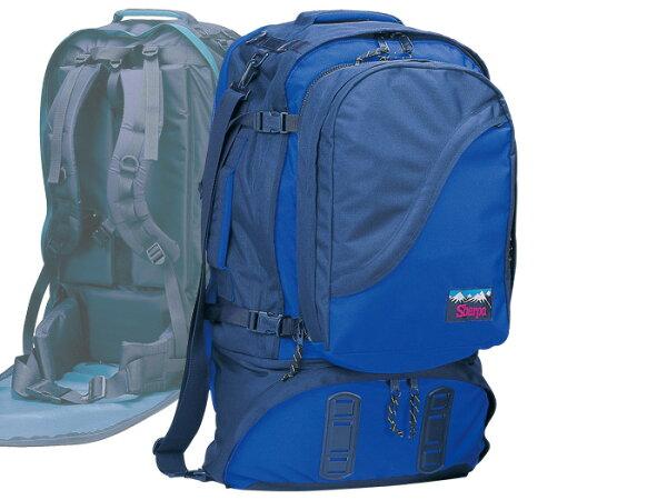 【露營趣】RHINO犀牛S29875公升豪華自助旅行背包背包客歐洲澳洲遊學旅行背包子母背包母子背包