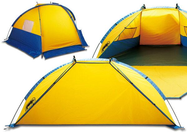 【露營趣】中和送手電筒RHINO犀牛T-1032~3人帳篷二人帳雙人帳遮陽帳沙灘帳海灘帳野餐帳釣魚帳