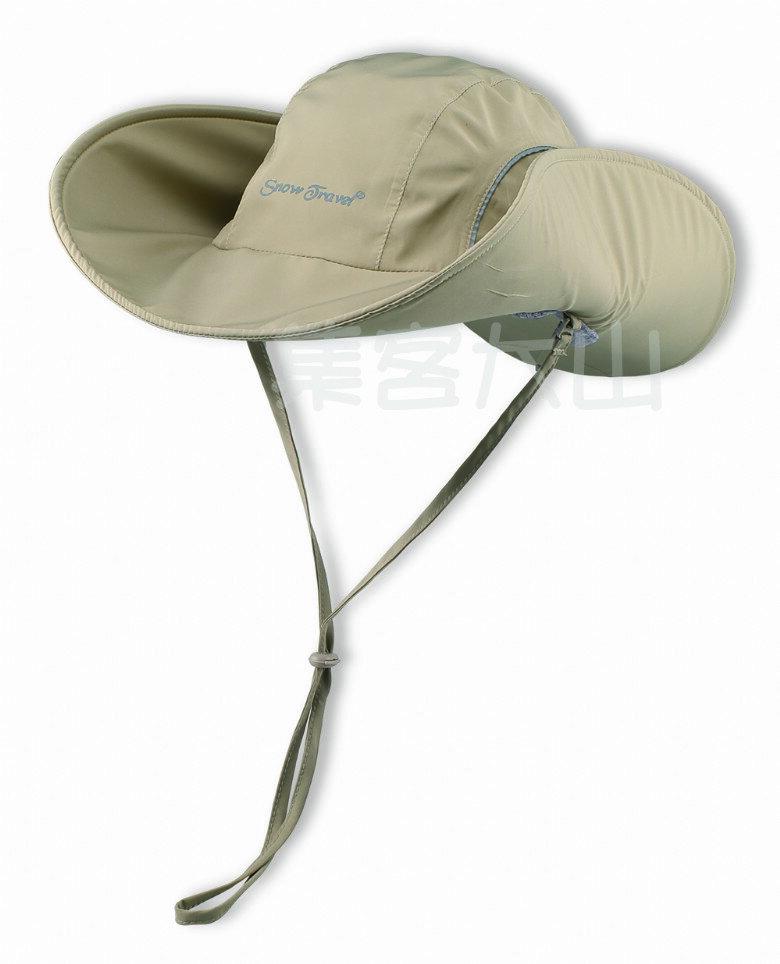 【露營趣】中和 SNOW TRAVEL 英國PORELLE三層貼合防水防風透氣大盤帽 遮陽帽 圓盤帽 AH-16 非Outdoor Research Gore-Tex
