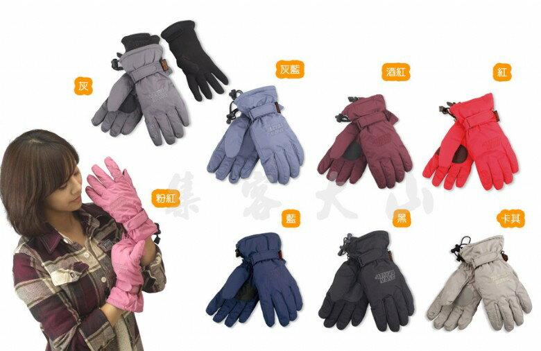 【露營趣】SNOW TRAVEL 英國Ski-Dri+美國POLARTEC 兩件式防水透氣手套 保暖手套 機車手套 AR-20
