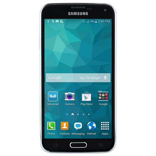 Samsung Galaxy S5, Black - FreedomPop w/ 100% Free Mobile Phone Service 0
