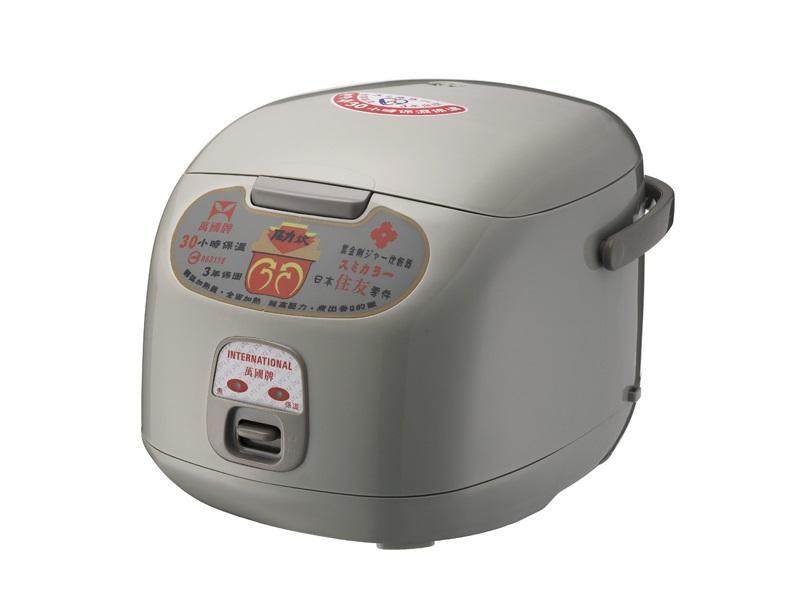 家殿城 萬國FS-1800S  10人份黑金鋼電子鍋