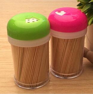 【省錢博士】塑料圓形牙籤筒