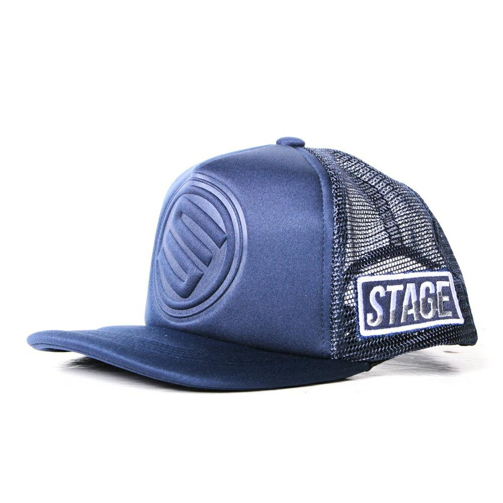 STAGE 3D LOGO MESH CAP 桃紅/深藍/黑/紅/寶藍 五色 3