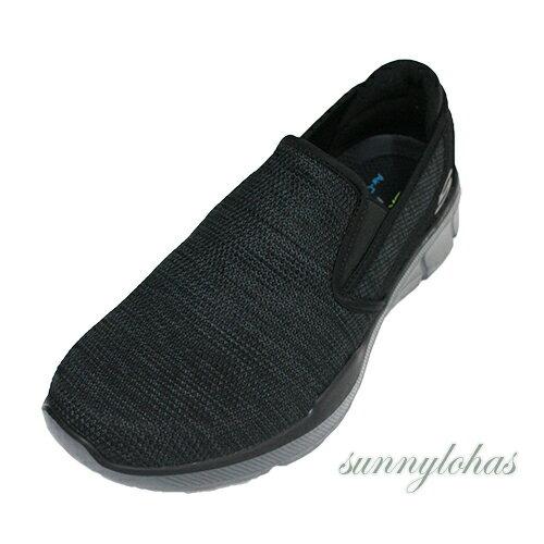 SKECHERS(男)休閒運動鞋EQUALIZER3.0健走鞋輕量柔軟-52937BKCC牛仔灰[陽光樂活]