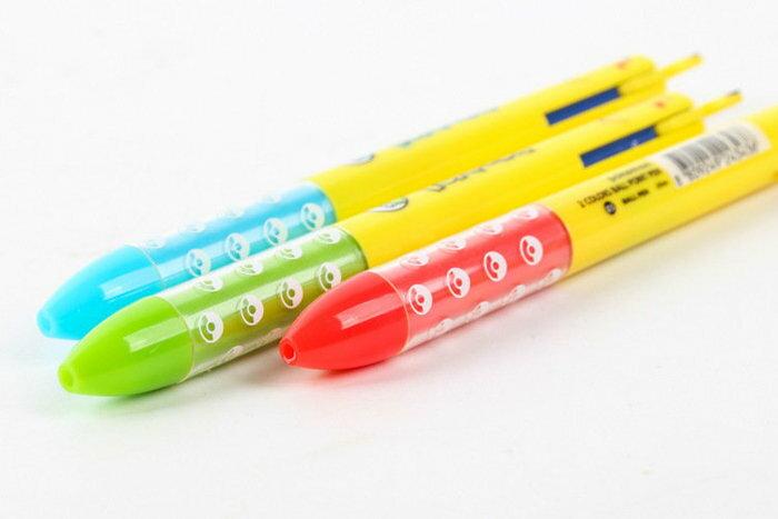 =優生活=日本神奇寶貝口袋妖怪pokemon go 寵物小精靈皮卡丘紅藍2色原子筆 按壓筆