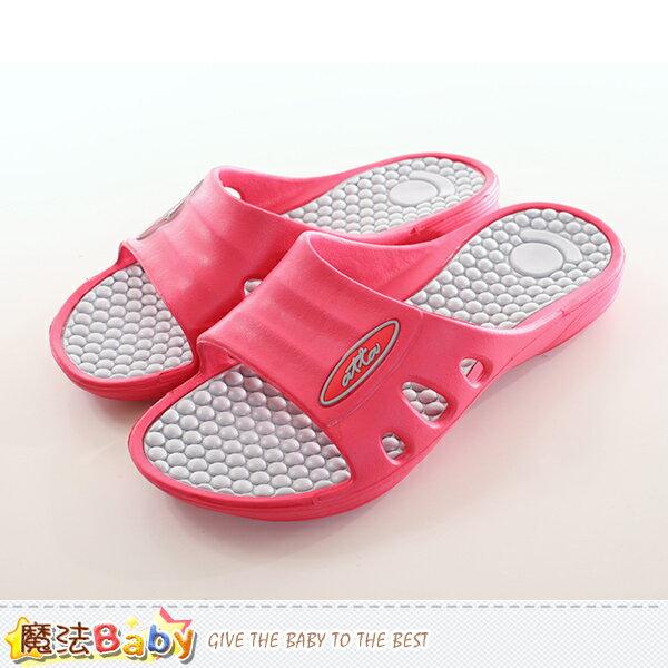 女鞋 按摩顆粒健康休閒拖鞋 魔法Baby~sd0218