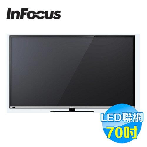 鴻海INFOCUS70吋聯網LED液晶顯示器XT-70CM802【送標準安裝】