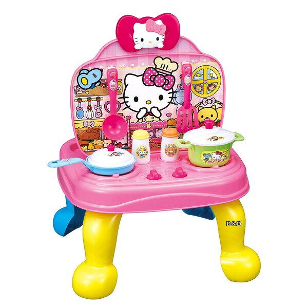 《三麗鷗Sanrio》KITTY廚房收銀兩用遊戲組