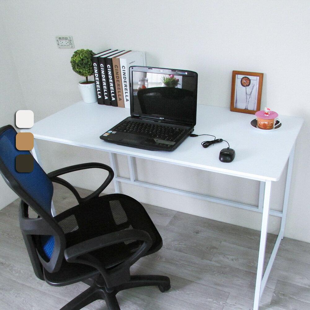 新時代簡約風120公分大平面工作桌 電腦桌 書桌 台灣製 Amos【DCA015】 3