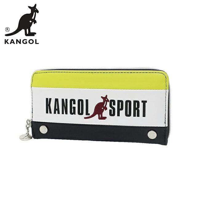黃色款【日本正版】KANGOL SPORT 皮革 長夾 皮夾 錢包 KANGOL 英國袋鼠 - 080656 - 限時優惠好康折扣