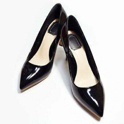 ☆尖頭高跟鞋真皮細跟單鞋 -日系百搭素面造型女鞋子3色73iw65【獨家進口】【米蘭精品】
