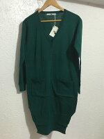 針織外套推薦到日本代購 SLY 墨綠 深綠 長版 外套 rienda moussy ur muji jeanasis hare 無印 日本就在SUNYI推薦針織外套