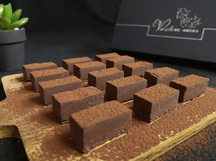 88%濃純巧克力  20入/盒 可可豆製作的生巧克力,濃醇不膩