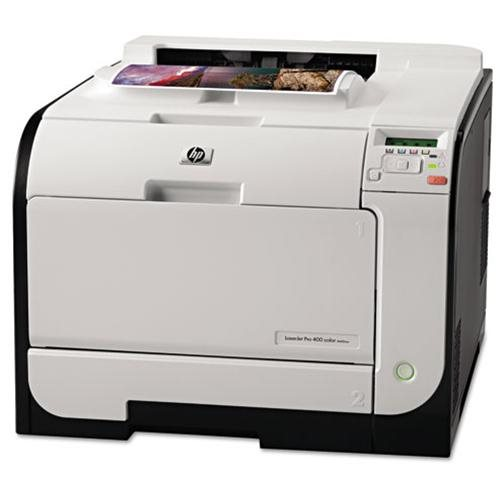 HP M451nw LaserJet Pro 400 Color Printer 1