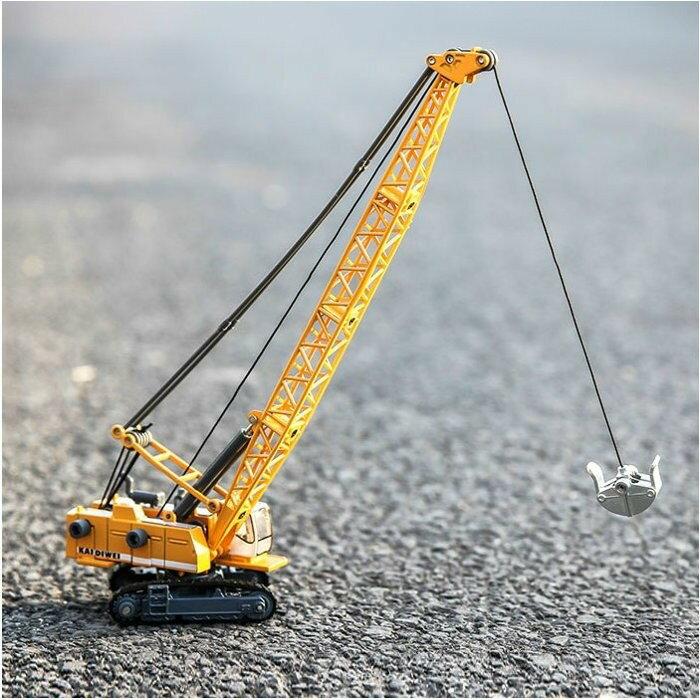 ╭。BoBo媽咪。╮盒裝 凱迪威模型 1:87 塔式纜索挖掘車 吊車 工程車 SIKU