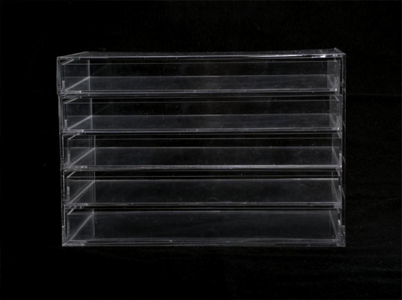 Cosmetic Jewelry Organizer 5 Drawer acrylic Box 1
