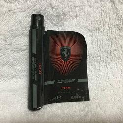 【凱希恩香水美妝】Ferrari法拉利 Ferrari法拉利 極帥男性淡香精 1.2ml