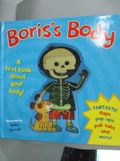 ~書寶 書T2/少年童書_YGF~Boris #x27 s Body