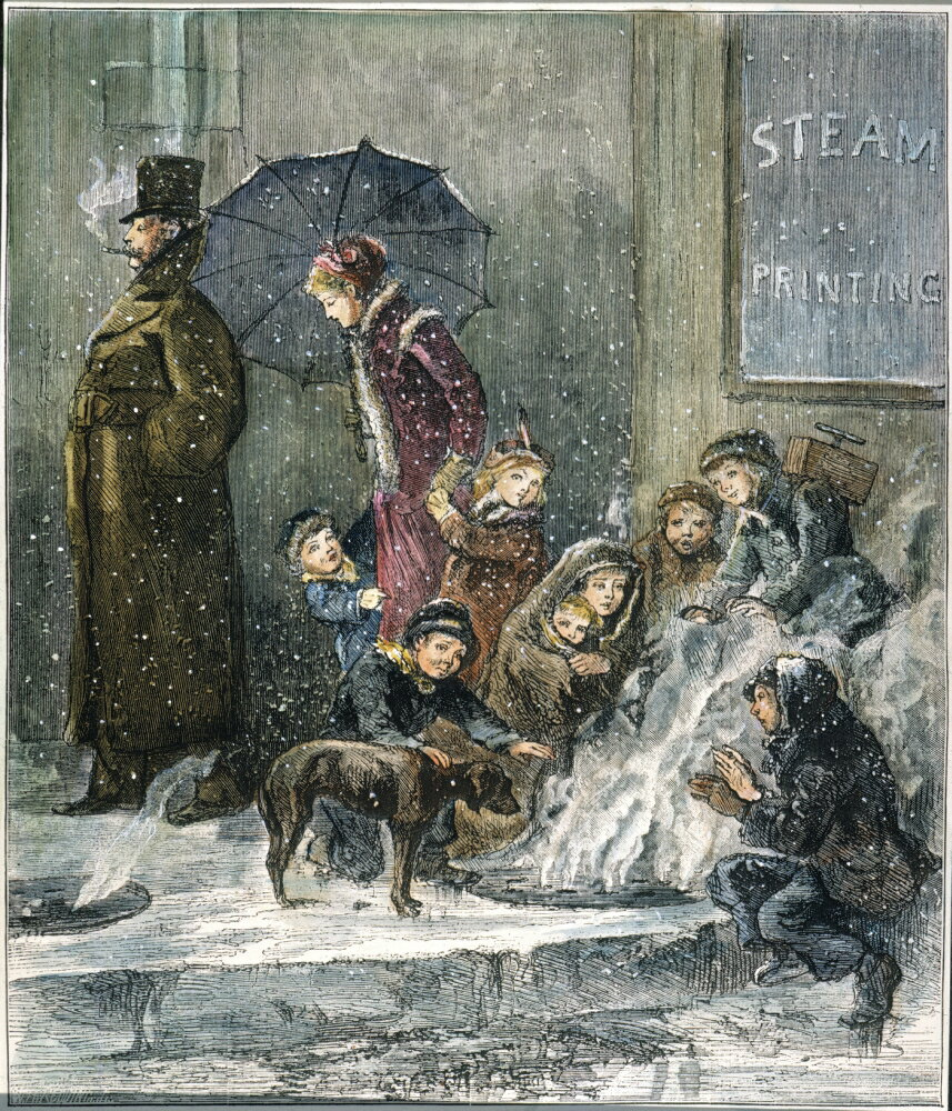 Hearth Nyc: Posterazzi: New York Poverty 1876 NThe Hearth-Stone Of The