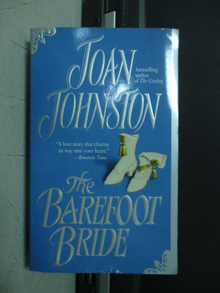【書寶二手書T2/原文小說_NMM】The barefoot bride_Joan johnston