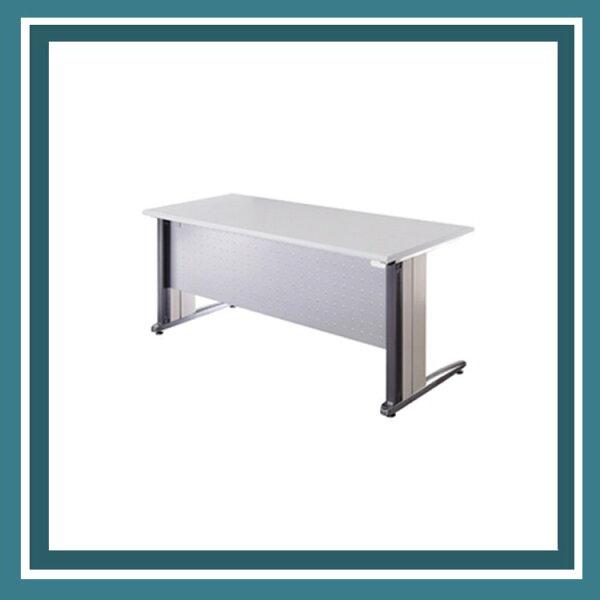 『商款熱銷款』【辦公家具】OTS-127G灰桌板銀色凸點檔板鋁合金辦公桌辦公桌書桌桌子