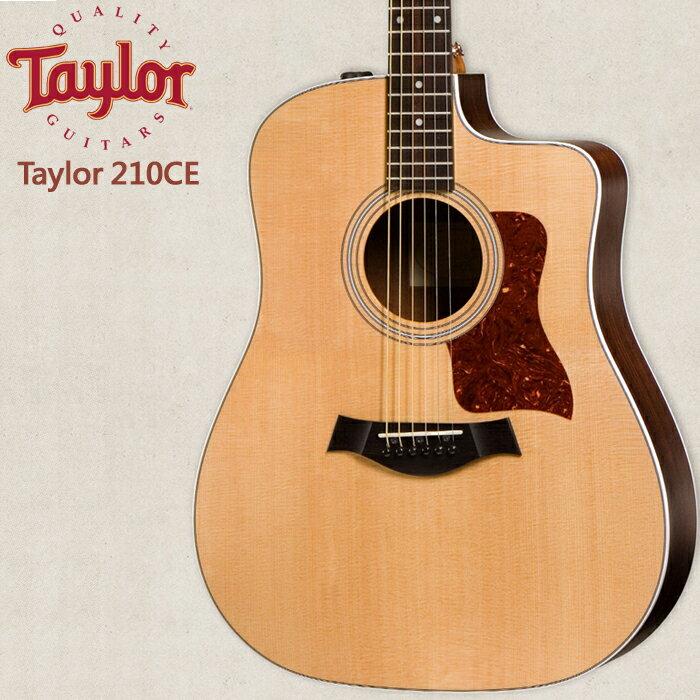 【非凡樂器】Taylor 【210CE】美國知名品牌電木吉他/公司貨/全新未拆箱/加贈原廠背帶