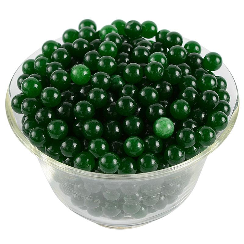 供佛七寶石 裝藏圣物供曼扎八供寶瓶佛前供天然綠瑪瑙裝藏寶石1兩