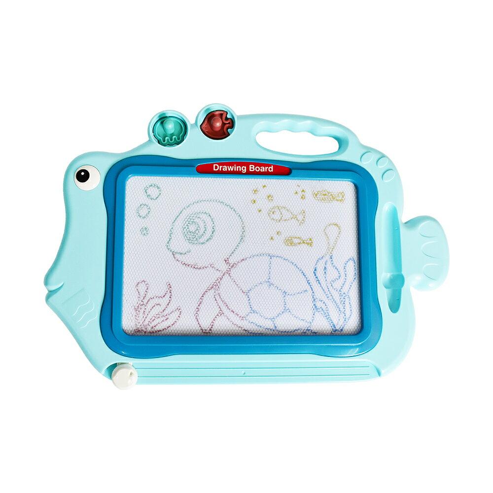 彩色大畫板(多功能彩繪 塗鴉繪圖 磁性寫字 早教教具 兒童畫板)