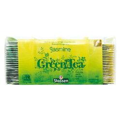 司迪生綠茶包-茉莉綠茶(袋裝防潮包)-100入【良鎂咖啡吧台原物料商】