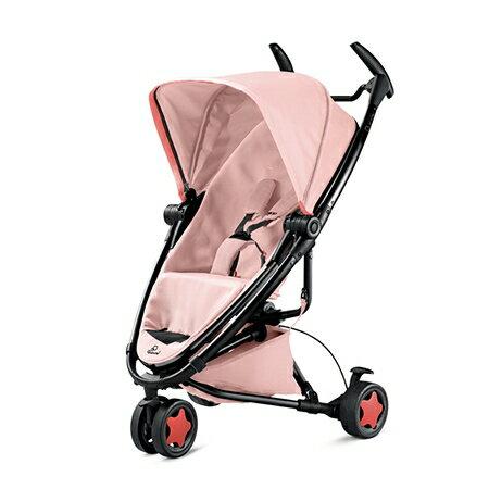 ★衛立兒生活館★Quinny Zapp Xtra2 Miami 嬰兒手推車(黑框粉)+贈MAXI-COSI CabrioFix 提籃(顏色隨機出貨)