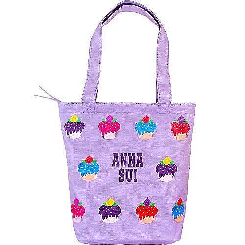 ANNA SUI 安娜蘇 紫戀甜心手提包 ☆真愛香水★ 另有安娜蘇紫戀甜心面紙零錢包