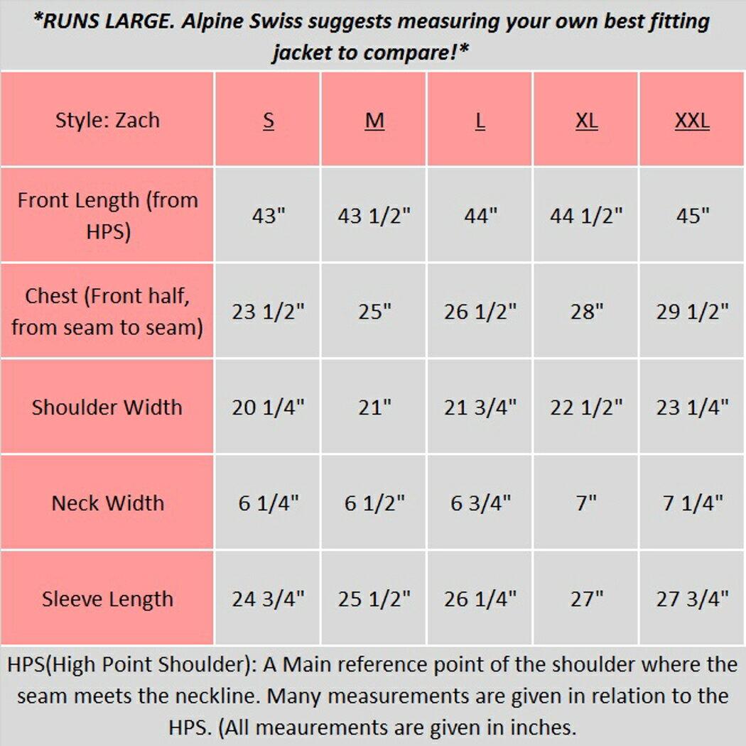 Alpine Swiss Men's Zach Knee Length Jacket Top Coat Trench Wool Blend Overcoat 2