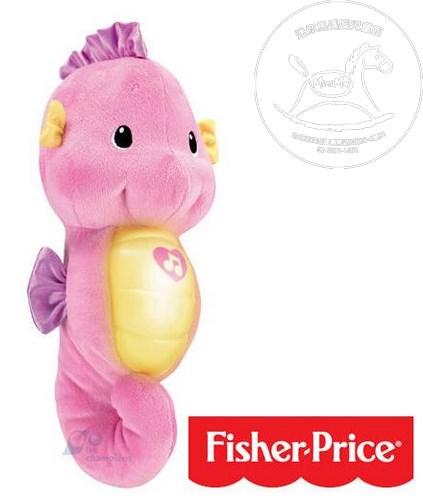【迷你馬】Fisher Price 費雪 聲光安撫海馬 (粉色/藍色)