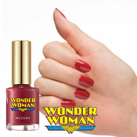 韓國 MISSHA WONDER WOMAN 絢爛凝光指彩釉 8ml 指甲油 神奇女俠 神