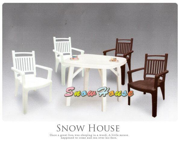 ╭☆雪之屋小舖☆╯@ P601-05 百樂休閒方桌(TB02) / 塑膠桌 / 戶外桌 / 休閒桌(不含椅子)
