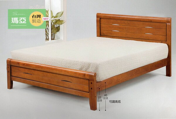 尚品傢俱:【尚品傢俱】SN-4-3瑪亞6尺雙人床