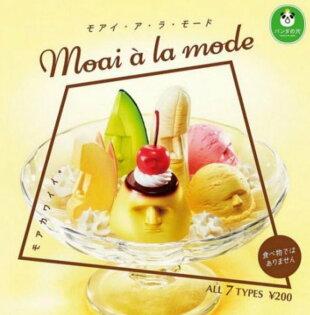 現貨BEETLE摩艾聖代甜品冰品布丁香蕉哈密瓜櫻桃蘋果美食公仔轉蛋扭蛋全套7種