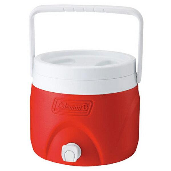 【鄉野情戶外專業】 Coleman |美國|  7.6L 置物型飲料桶/冰桶 保鮮桶 保冰箱-紅/CM-1362JM000